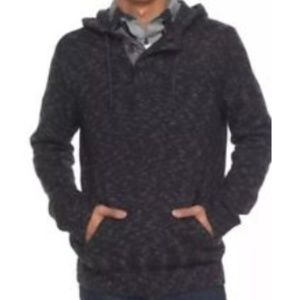 urban pipeline Men Hooded Henley Authentic Sweater
